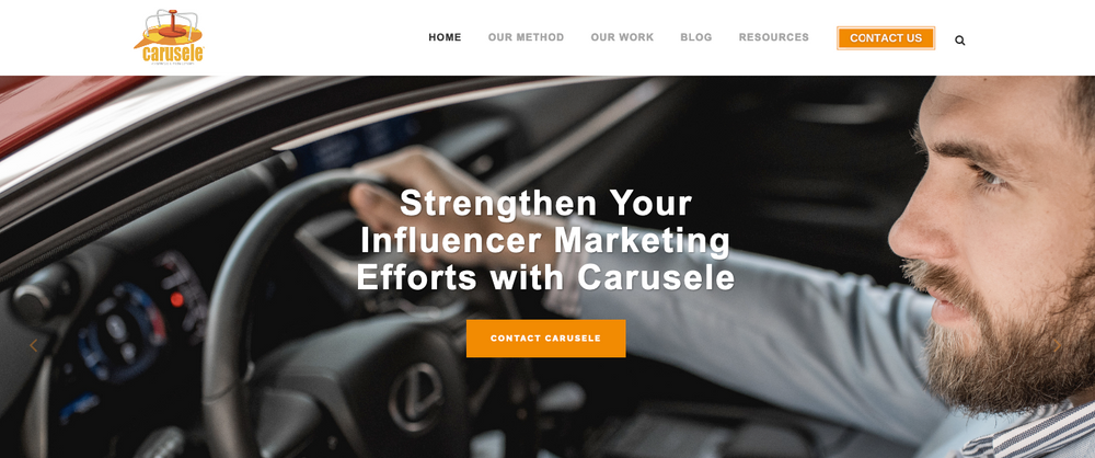 Carusele. Top Influencer marketing agency 2021